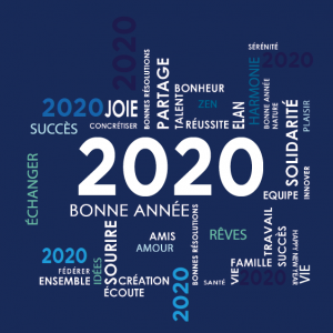 Fond bleu Best seller 2020